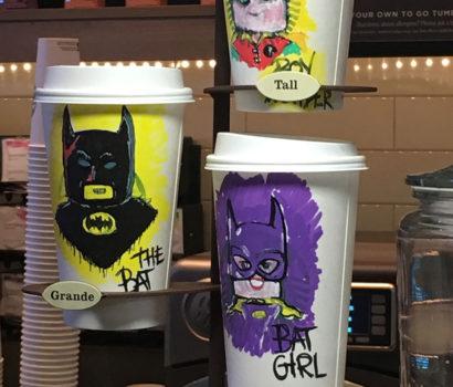 Comic coffee