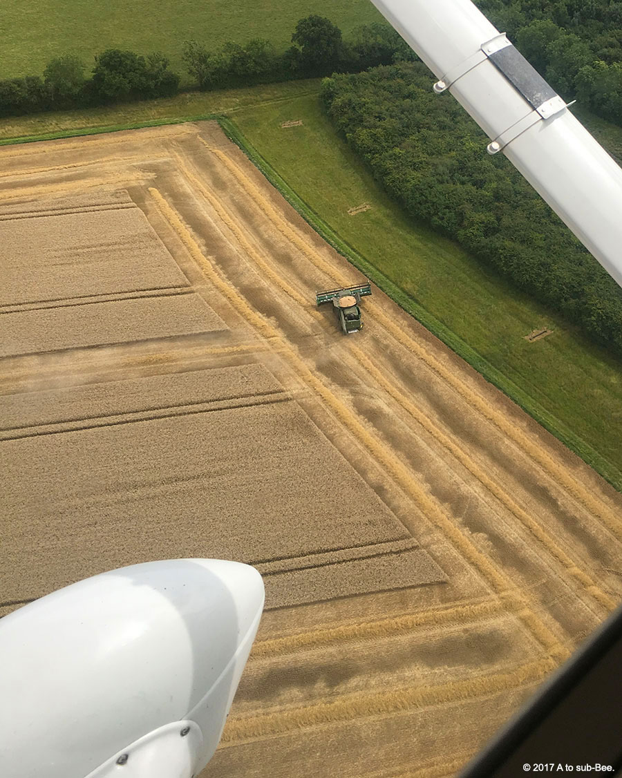 Farming from above