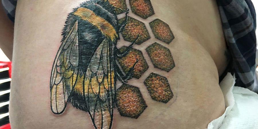 Bee-ing Inked 1